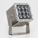 GT-1330BLU - 13 watts Blue LED spotlight fully protected